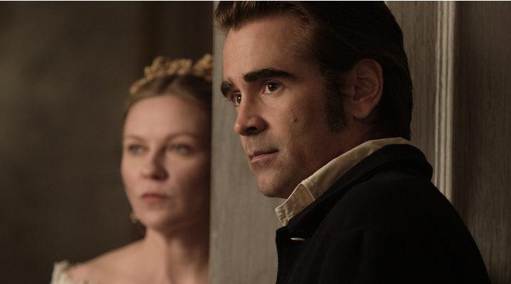 Colin Farrel y Kirsten Dunst en 'La Seducción'