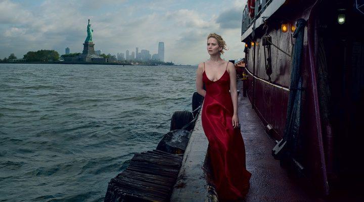Jennifer Lawrence para la revista Vogue