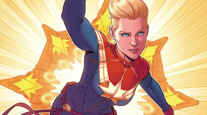 La Capitana Marvel de los cómics
