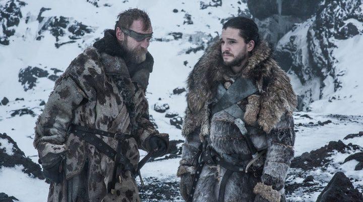 Jon Snow y Beric
