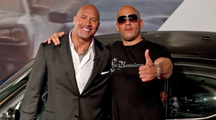 Dwayne Johnson y Vin Diesel, rápidos, furiosos y multimillonarios