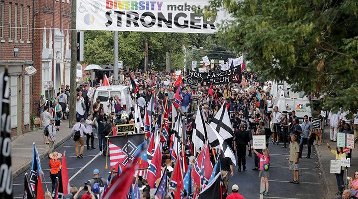 Marcha en Charlottesville