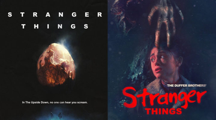 Pósters homenaje 'Stranger Things'