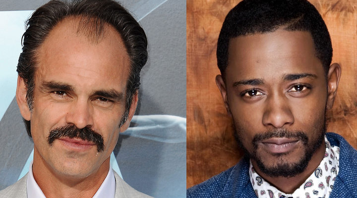 Steven Ogg y Lakeith Stanfield