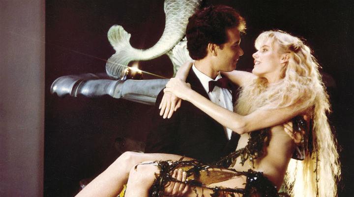 Tom Hanks y Daryl Hannah en 'Un, dos, tres... Splash'