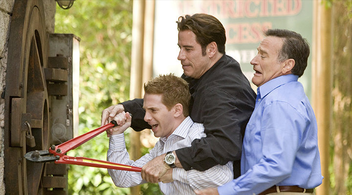 Robin Williams, Seth Green y John Travolta