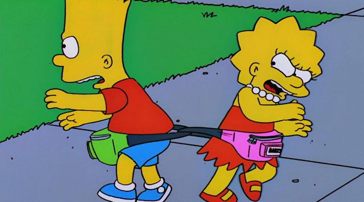 Lisa y Bart