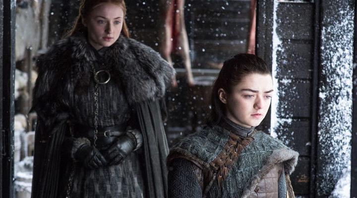 Arya y Sansa en 'Juego de Tronos'