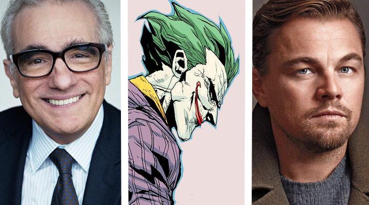Martin Scorsese, el Joker y Leonardo DiCaprio