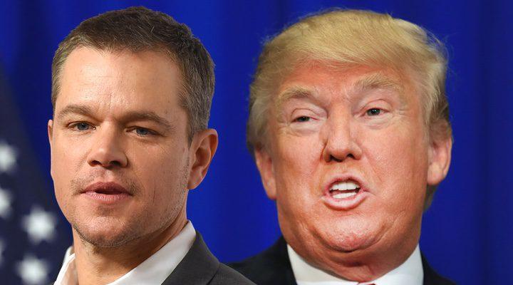 Matt Damon y Trump
