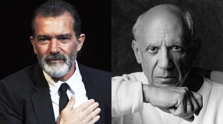 Antonio Banderas y Pablo Picasso