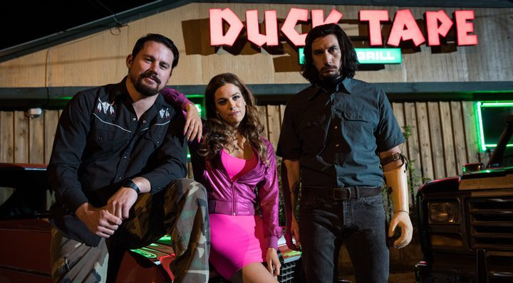 Channing Tatum, Adam Driver y Riley Keough en 'Logan Lucky'