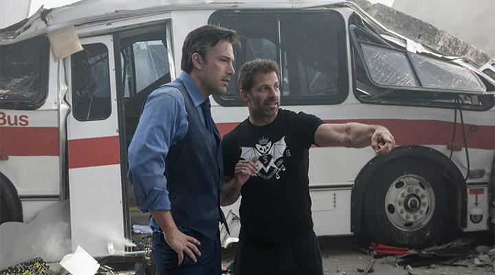 Zack Snyder y Ben Affleck