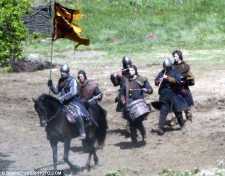 Imágenes del rodaje de 'Robin Hood'
