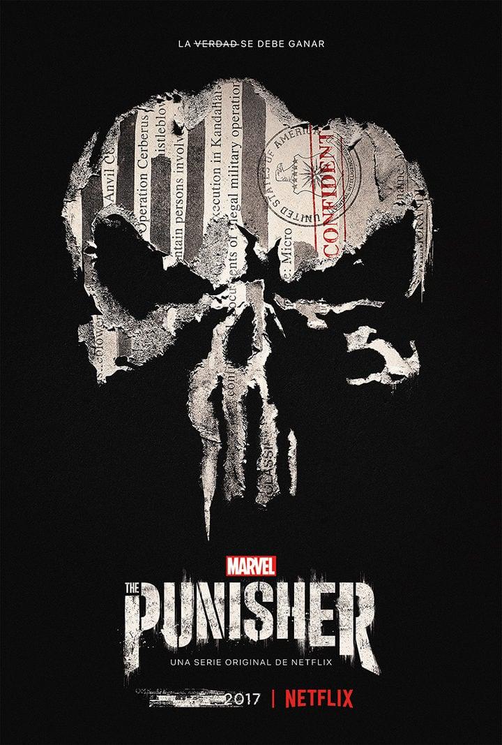 The Punisher\': Netflix revela nuevas imágenes y el póster de la ...