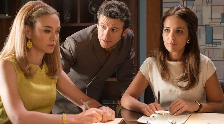 Diego Martin y las chicas Velvet en 'Velvet Colección'