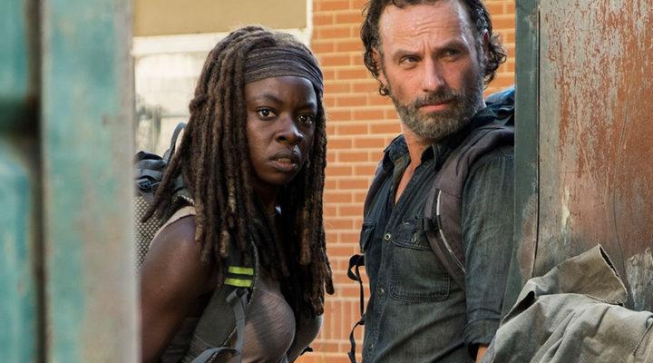 Michonne y Rick