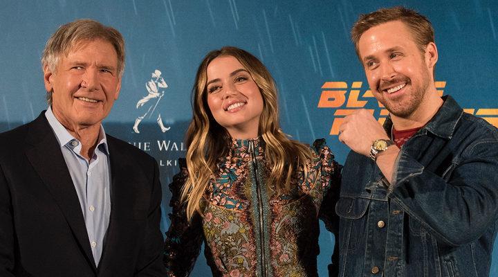 Harrison Ford, Ana de Armas y Blade Runner
