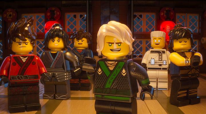 Los personajes de 'La LEGO Ninjago Película