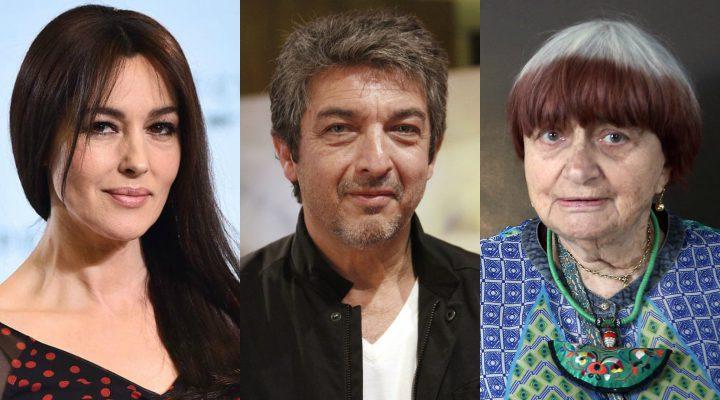 Monica Bellucci, Ricardo Darín y Agnès Varda