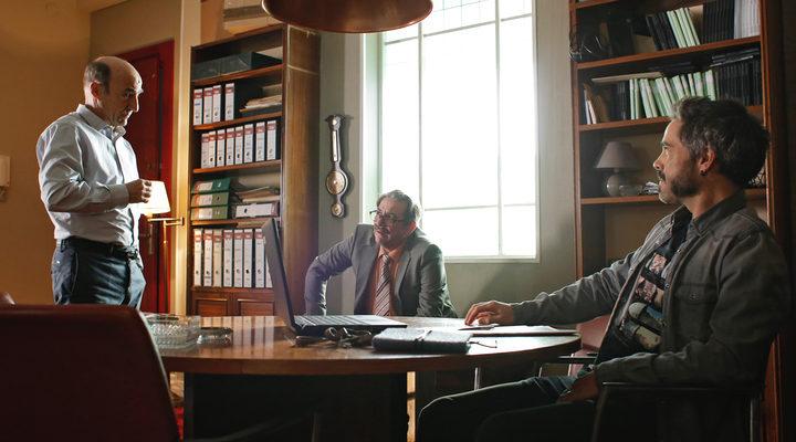 Karra Elejalde, Unax Ugalde y Ramón Agirre en 'Operación Concha'