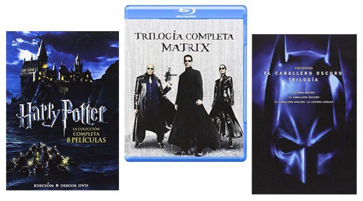 'Harry Potter', 'Matrix', 'Batman'