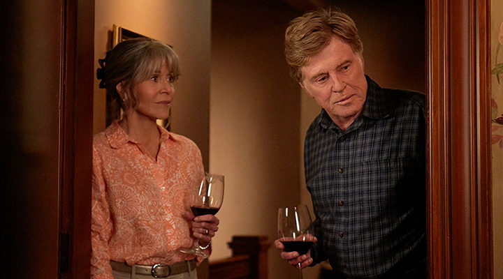 Robert Redford y Jane Fonda en 'Nosotros de noche'