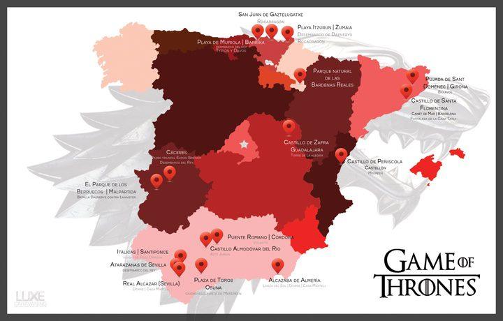 'Juego de Tronos' en España