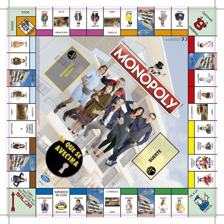 'Así será el tablero del Monopoly de 'La que se avecina''