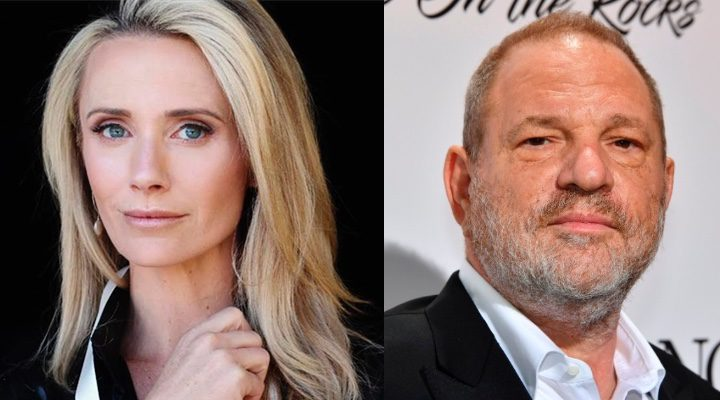 Jennifer Siebel Newsom y Harvey Weinstein