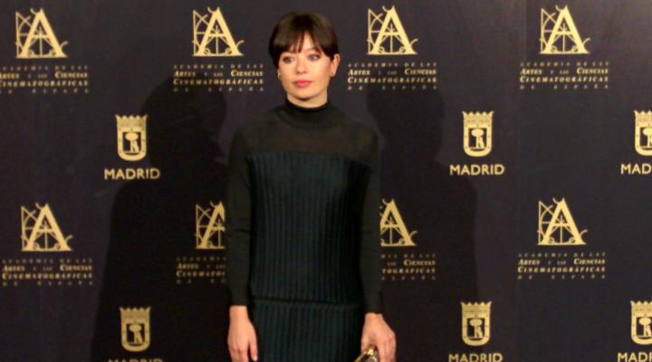 Anna Castillo en el encuentro Hollywood-Madrid celebrado en el Casino de Madrid