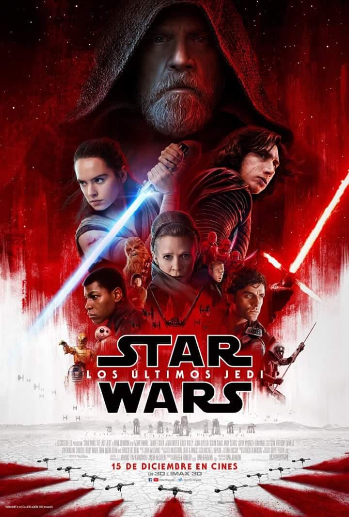 nuevo póster Star Wars:Los últimos Jedi