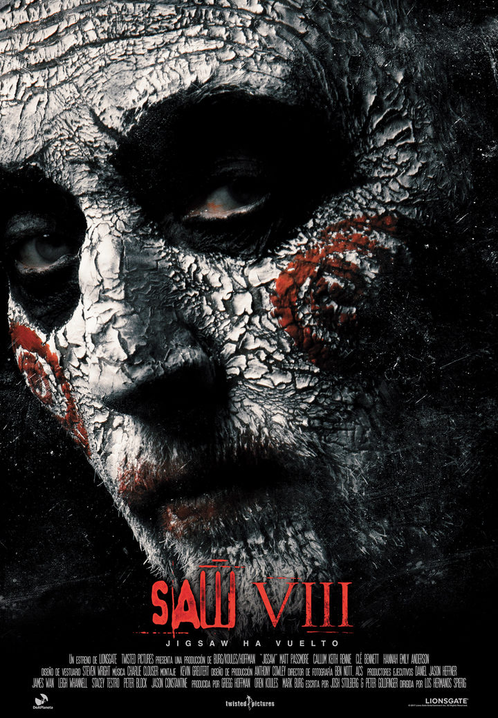 Nuevo póster de 'Saw VIII'