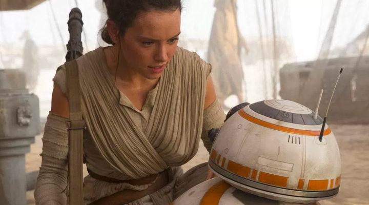 Daisy Ridley 'Star Wars: El despertar de la fuerza