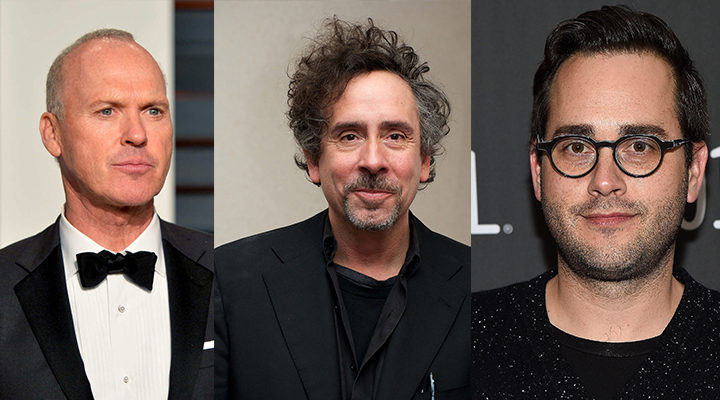 Michael Keaton, Tim Burton y Mike Vukadinovich