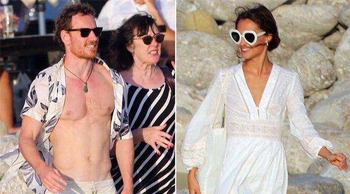 'Michael Fassbender y Alicia Vikander podrían haber contraído matrimonio en Ibiza'