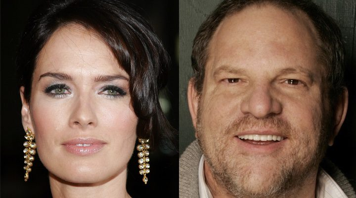 Lena Headey y Harvey Weinstein