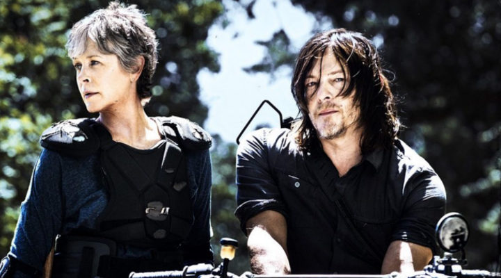 Daryl y Carol The Walking Dead