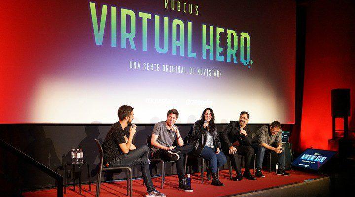Presentación 'Virtual Hero' en el Spoiler Fest