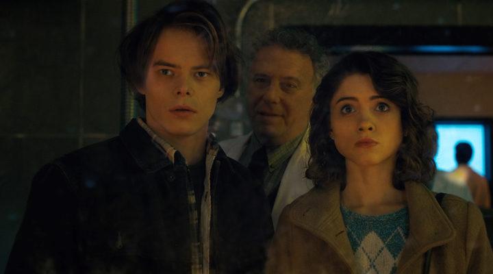 Natalia Dyer y Charlie Heaton en 'Stranger Things'