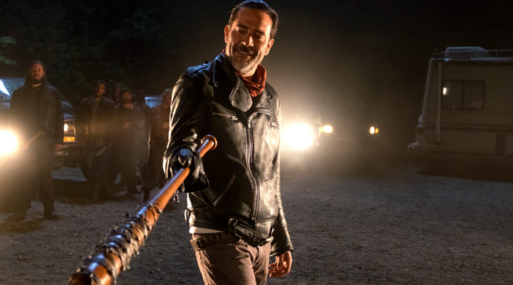 Negan con su bate 'The Walking Dead'