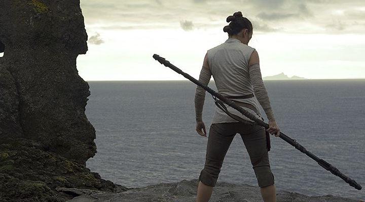 Rey (Daisy Ridley) en 'Star Wars: Los últimos Jedi'