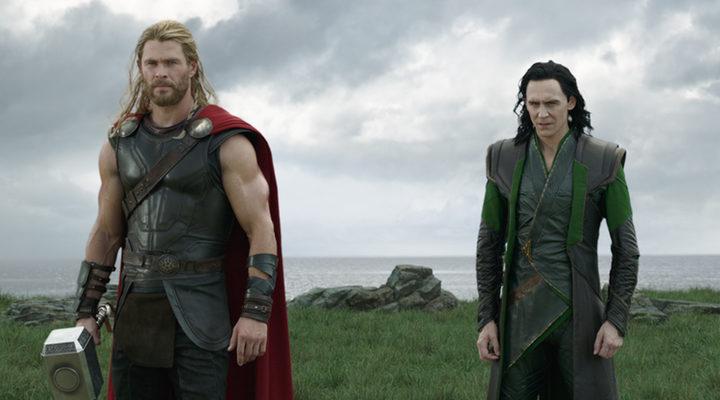 Thor y Loki en 'Thor Ragnarok'