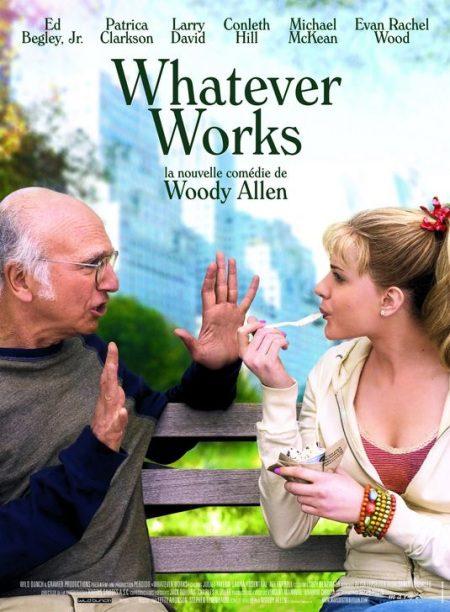 Otro cartel de 'Whatever works'