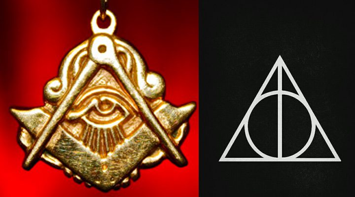 símbolo masónico, Reliquias de la Muerte