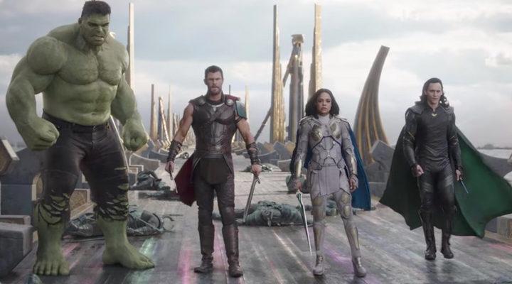 Thor Ragnarok personajes principales