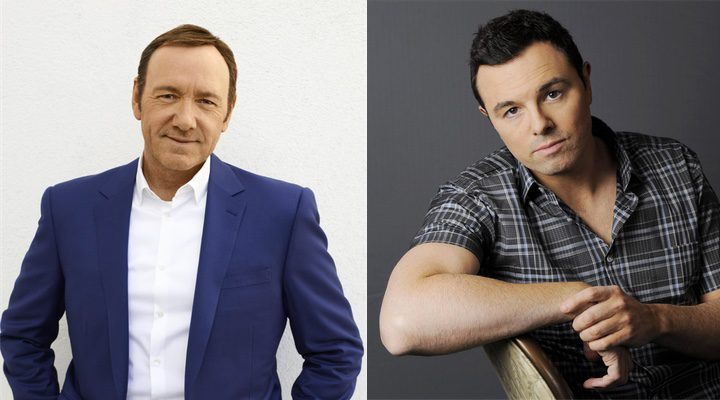 'Seth MacFarlane ya apuntó a Kevin Spacey hace doce años'