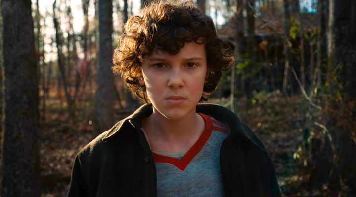 'Millie Bobby Brown, Eleven en la serie'