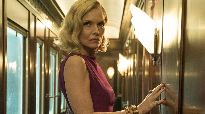 Michelle Pfeiffer en 'Asesinato en el Orient Express'