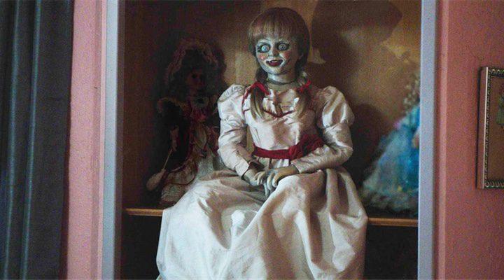 'En cuarta posición se sitúa la cinta de terror 'Annabelle: Creation''